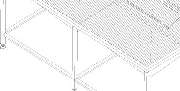 stół do skrzynek rolet